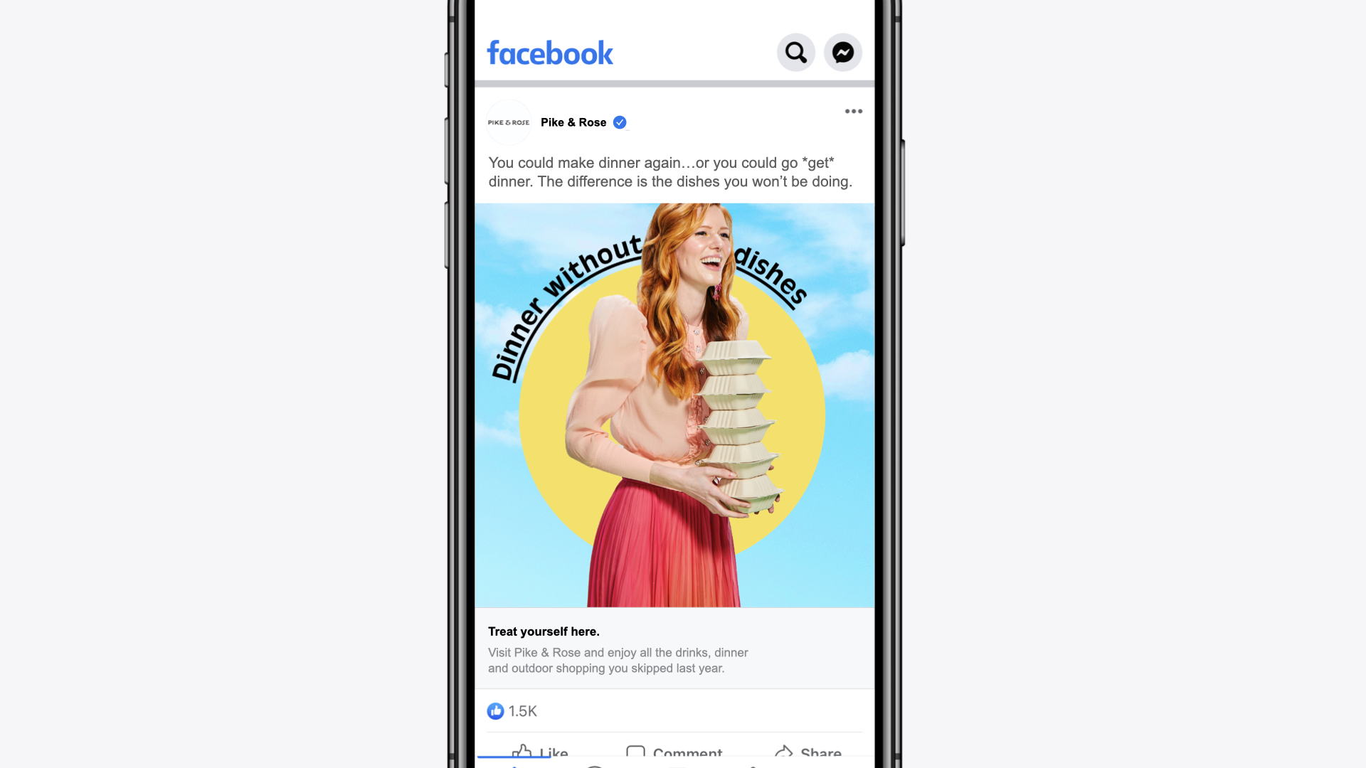Social ad campaign by January Third