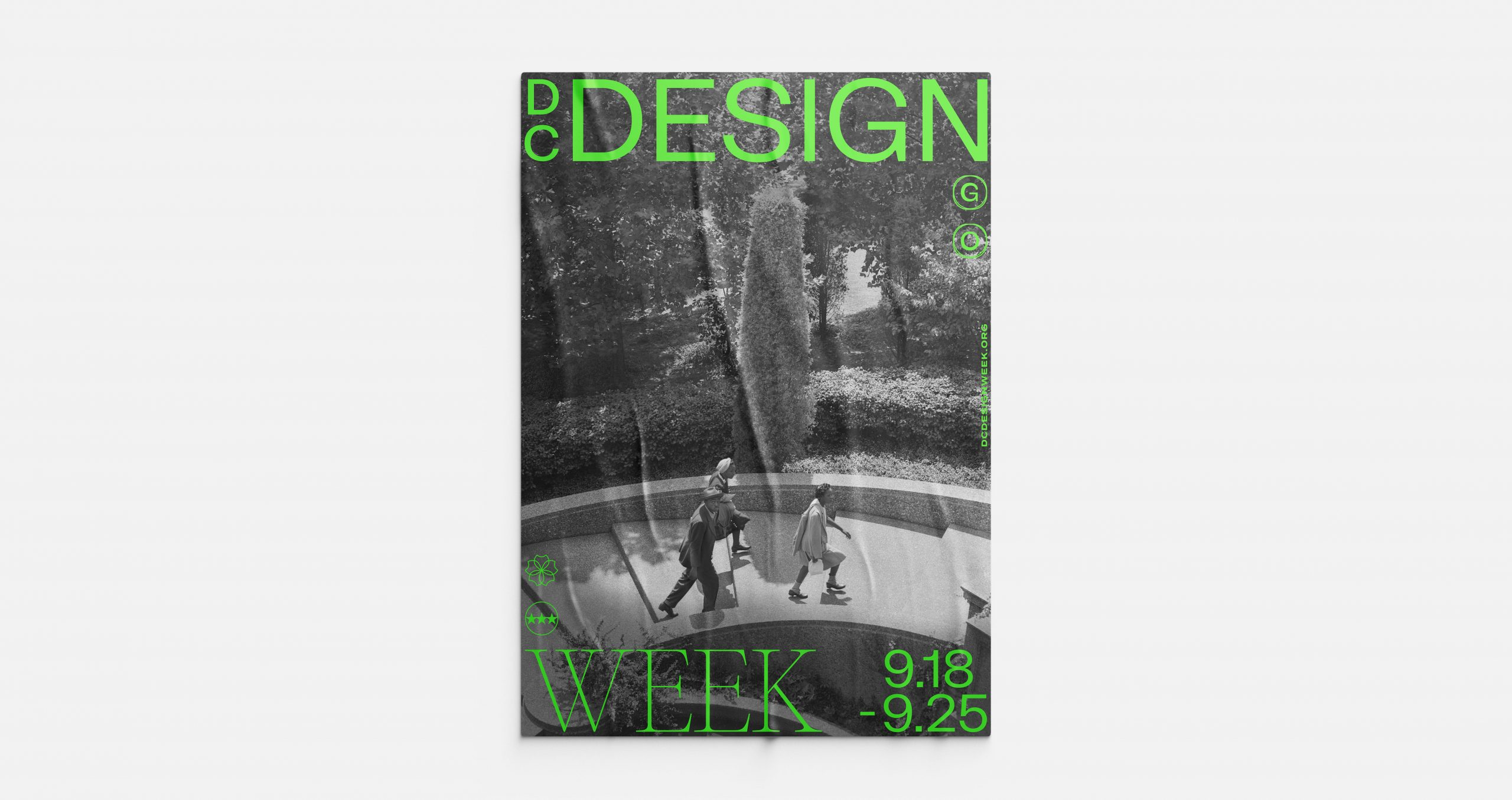 Brand identity and art direction for DC Design Week by January Third