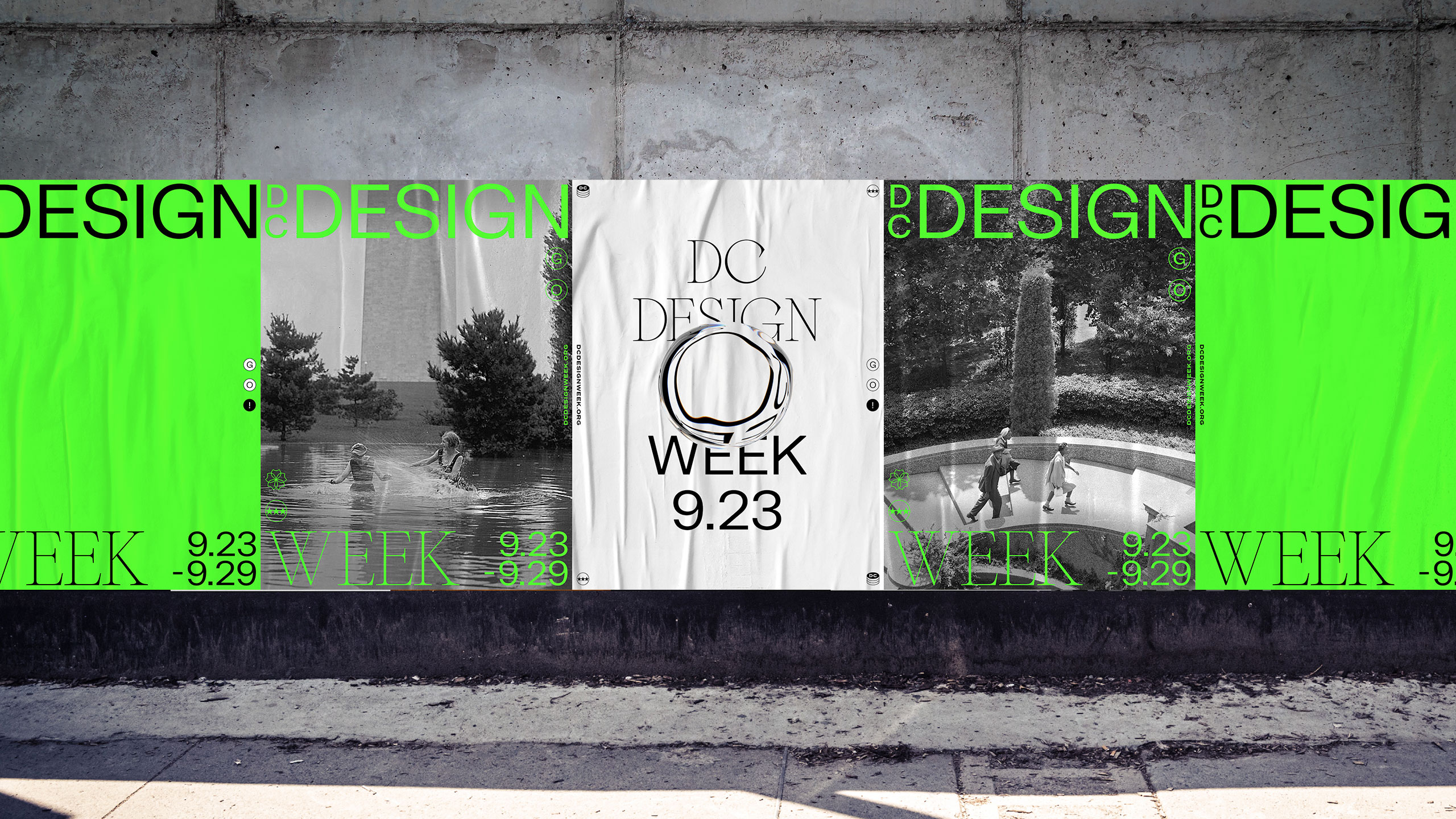 Identity Design for DC Design Week by agency January Third