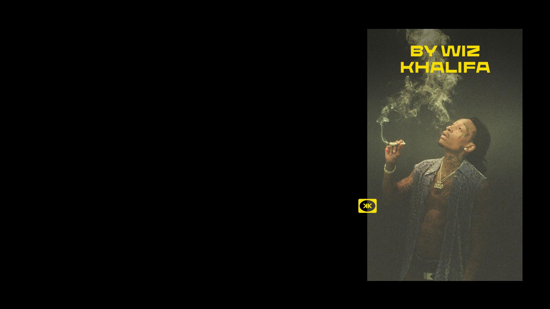 Weed branding for Khalifa Kush